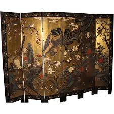 chinese room divider exquisite chinese vintage six panel coromandel screen screens