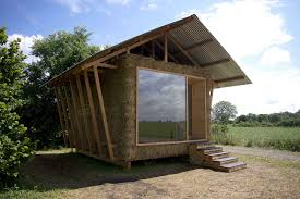 A Study With Walls In by Eco Friendly House Study With Walls Of Packed Straw Alsace