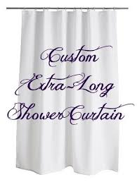 84 Shower Curtains Extra Long Best 25 Extra Long Shower Curtain Ideas On Pinterest Long