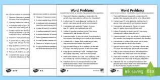 printable multiplication word problems ks2 problem solving primary maths resources page 1