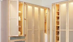 Armoire With Glass Doors Closet Works Wardrobe Storage Cabinets And Closet Wardrobes