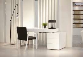 Modern Desks With Drawers White Contemporary Office Desk With Storage Oakland California J M Lof