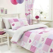 Children S Duvet Cover Sets Children U0027s Girls Patchwork Bedding Sets U0026 Duvet Covers Ebay