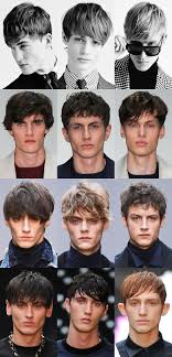 men growing hair out stages key hairstyle trends from london collections men aw15 fashionbeans
