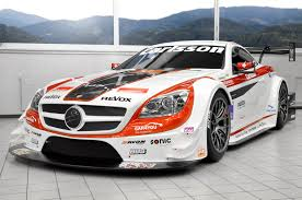 mercedes racing car carlsson mercedes slk race car picture 82772