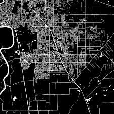 Elk Grove Ca Map Elk Grove California Downtown Vector Map Hebstreit U0027s Sketches