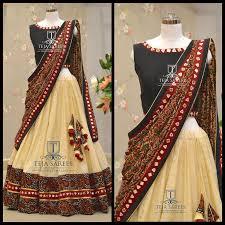 82 best half saree designs images on blouse models