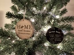personalized wedding christmas ornament why my favorite gift is personalized christmas ornaments