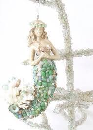 Beach Christmas Tree Topper - best 25 mermaid ornament ideas on pinterest seashell ornaments
