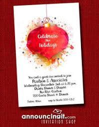 Christmas Ornament Party Invitations - sage u0026 red christmas tree ornaments party invitations are perfect