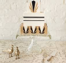 Vintage Cake Design Ideas Great Gatsby Inspired Cakes Art Deco Glitz