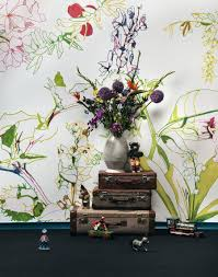 applying wall mural interior decoration ideas