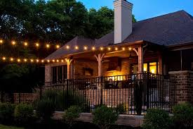 Outside Patio String Lights The Best Outdoor Patio String Lights Patio Reveal Back Hang Patio
