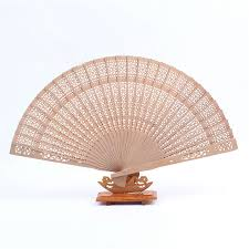 wooden fans beauty home decoration 20cm crafts bamboo wooden fan folding