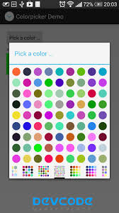 android pattern source code android color picker android app source code