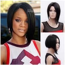 aliexpress com buy straight rihanna hairstyle 10 u0027 u0027 natural black