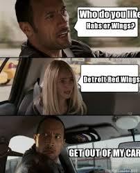 Red Wings Meme - meme maker who do you like habs or wings detroit red wings get