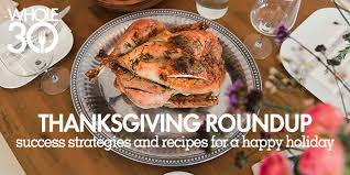 thanksgiving the whole30 program