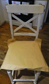 vinyl polyurethane cross white solid oak kitchen chair seat covers