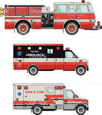 fire truck clip art vector images u0026 illustrations istock