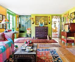 home project ideas house tour a colorful patterned farmhouse apartment therapy