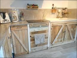 cuisine en palette bois meuble de cuisine en palette palettes en meuble de cuisine en