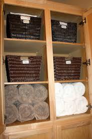organizing a small linen closet organize and decorate linen