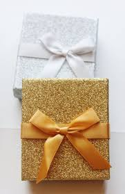 wedding gift gift card glitter silver or gold gift boxes gift card by designsbyembellish