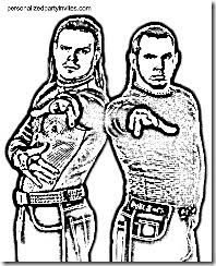 wrestling coloring sheets archives