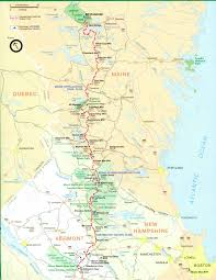 Map Of Virginia Cities And Towns by Official Appalachian Trail Maps