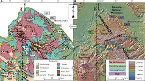 Plateau Of Mexico Map by Thermal Evolution And Exhumation History Of The Uncompahgre