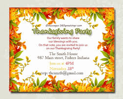 thanksgiving potluck invitation templates is great ideas to make new