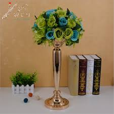 classic metal golden candle holders wedding table candelabra home
