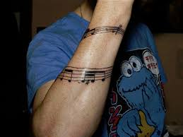26 charming music tattoos for guys slodive
