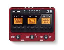 Jual Software Punch Home Design by Zoom B3 Bass Effects U0026 Amp Simulator Pedal Zoom