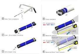 Awning Roller Tube Standard Tubular Motor 45 Mm For Awning Like As Somfy Buy