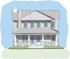 coastal homes plans narrow house plans sparrow collection u2014 flatfish island designs