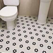 Best 10 Black Hexagon Tile by Matte Black Hexagon Tile Somertile Victorian Mini Hex Matte Black