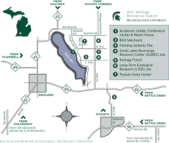 Michigan State University Map by Directions Maps And Parking