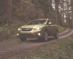 green subaru 2014 subaru xv crosstrek hybrid new york auto show preview