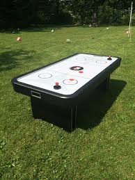 outdoor air hockey table air hockey tables indoor or outdoor rentals chicago party rentals