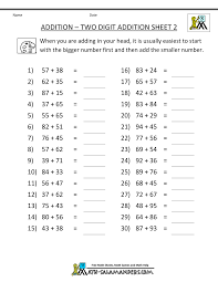 2 grade worksheets math free worksheets library download and