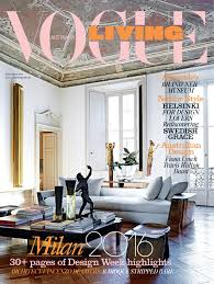 vogue decor magazine interior design