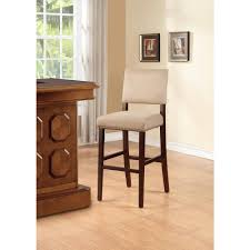 Home Decorators Bar Stools by Home Decorators Collection Vega 30 In Dark Brown Cushioned Bar