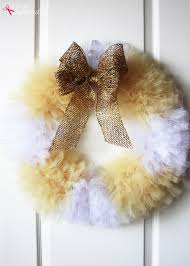 how to make wreaths tulle wreath craft tutorial