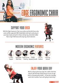 amazon com edge ergonomic office chair supports over 300 lbs