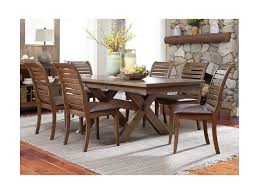 Liberty Furniture Dining Table by Liberty Furniture Bayside Trestle Dining Table With Butterfly Leaf