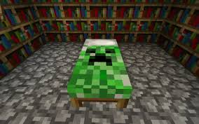 Bed Texture Creeper Bed Minecraft Texture Pack