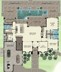 Florida House Plans With Pool Bold Florida House Plan With Video 31835dn Architectural