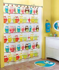 Childrens Shower Curtains Shower Curtains With Matching Bathroom Accessories For
